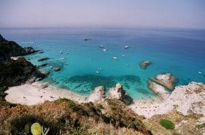 Spiaggia Praia i Focu Calabria