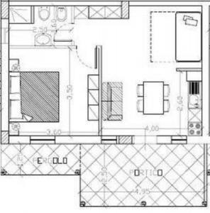 1 - planimetriapianoterra villa in calabria sul mare